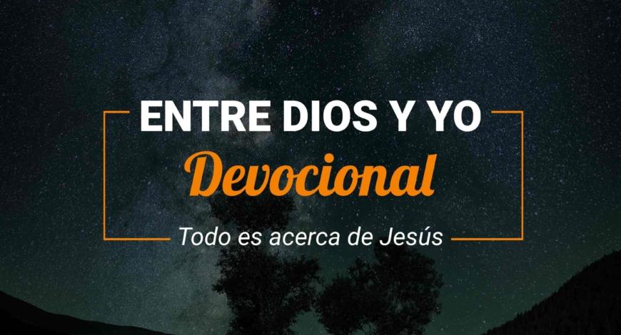 Devocional | Todo es acerca de Jesús